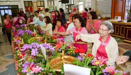 百名義工齊聚仁愛之家 發願弘揚人間佛教